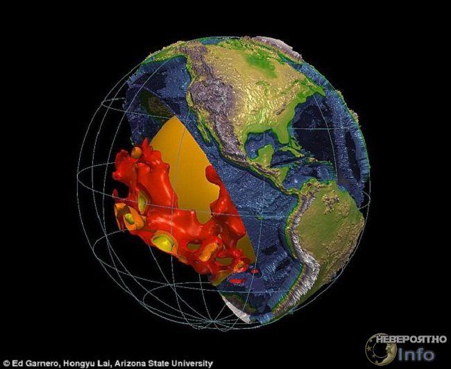 структуры под Землей