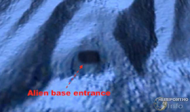 подводный вход
